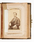 Photography:CDVs, Train Robber Sam Bass: McGregor, Texas CDV Album. ...