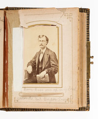 Train Robber Sam Bass: McGregor, Texas CDV Album