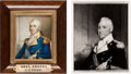 Military & Patriotic:Revolutionary War, Revolutionary War General John Brooks Miniature Painting....
