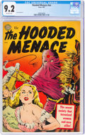 Golden Age (1938-1955):Horror, Hooded Menace #1 (#nn) (Avon, 1951) CGC NM- 9.2 Off-white pages....