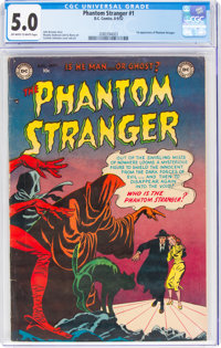 The Phantom Stranger #1 (DC, 1952) CGC VG/FN 5.0 Off-white to white pages