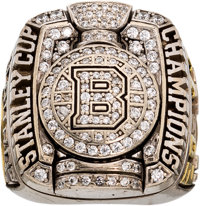 2011 Boston Bruins Stanley Cup Championship Staff Ring