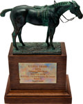Miscellaneous Collectibles:General, 1978 Seattle Slew Eclipse Award--Champion Older Horse of the Year....