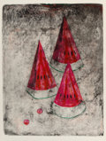 Prints & Multiples, Rufino Tamayo (1899-1991). Pastèque #2, 1969. Lithograph in colors on Rives BFK paper. 29-7/8 x 22-1/2 inches (75.9 x 57...