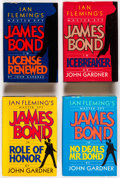 "Books:Hardcover, John Gardner ""James Bond"" Hardcover Editions Group of 10 (Various, 1971-93).... (Total: 10 Items)"