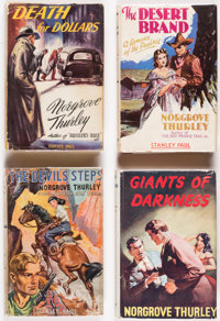 Norgrove Thurley Hardcover Editions Group of 14 (Various, 1945-57) Condition: Average VG.... (Total: 14 Items)