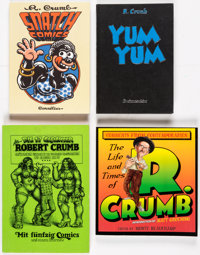 Robert Crumb Related Books Group of 7 (Various Publishers, 1975-2011) Condition: Average NM-.... (Total: 7 Items)