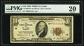 Small Size:Federal Reserve Bank Notes, Fr. 1860-H* $10 1929 Federal Reserve Bank Star Note. PMG Very Fine 20.. ...