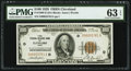 Fr. 1890-D $100 1929 Federal Reserve Bank Note. PMG Choice Uncirculated 63 EPQ