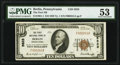 National Bank Notes:Pennsylvania, Berlin, PA - $10 1929 Ty. 1 The First National Bank Ch. # 5823 PMG About Uncirculated 53.. ...