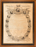 Antiques:Posters & Prints, Declaration of Independence: John Binns Version Published in 1819....