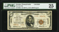 National Bank Notes:Pennsylvania, Jerome, PA - $5 1929 Ty. 2 The First National Bank Ch. # 12029 PMG Very Fine 25.. ...