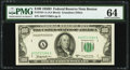 Fr. 2161-A $100 1950D Federal Reserve Note. PMG Choice Uncirculated 64