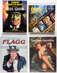 Illustration and Art Books Group of 9 (Various, 1960s-2000s).... (Total: 9 Items)