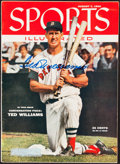 """Autographs:Others, 1955 Ted Williams Signed """"Sports Illustrated"""" Magazine."""