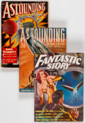 Pulps:Science Fiction, Assorted Science Fiction Pulps Box Lot (Various, 1937-52) Condition: Average GD+.... (Total: 27 Items)