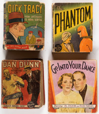 Big Little Book Group (Whitman, 1933-36) Condition: Average GD+.... (Total: 9 Items)