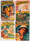 Pulps:Miscellaneous, Assorted Pulps Group of 6 (Various, 1939-51) Condition: Average GD.... (Total: 6 Comic Books)