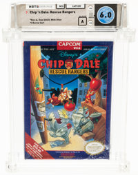 Chip 'n Dale: Rescue Rangers [Oval SOQ R, With Offer] Wata 6.0 A Sealed NES Capcom 1990 USA