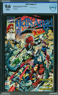 Hell's Angel #1 - CBCS CERTIFIED - ISSUE #2 (Marvel, 1992) CGC NM+ 9.6 White pages