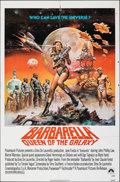 Movie Posters:Science Fiction, Barbarella (Paramount, R-1977). Folded, Fine/Very Fine.