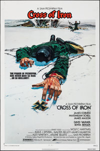 "Cross of Iron & Other Lot (Avco Embassy, 1977). Folded, Very Fine-. One Sheets (5) (27"" X 41""). Robert..."