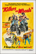 "Movie Posters:Action, Killers on Wheels (Howard Mahler Films, 1970). Folded, Very Fine. One Sheet (27"" X 41""). Neal Adams Artwork. Action.. ..."
