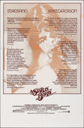 """Movie Posters:Musical, A Star Is Born & Other Lot (Warner Bros., 1976). Folded, Very Fine-. One Sheets (3) (27"""" X 41""""), Deluxe Title Lobby C..."""