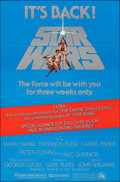 "Movie Posters:Science Fiction, Star Wars (20th Century Fox, R-1977). Folded, Very Fine+. One Sheet (27"" X 41""). Science Fiction.. ..."