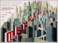 "Movie Posters:Science Fiction, Metropolis (Eureka, R-2010). Rolled, Very Fine/Near Mint. British Quad (30"" X 40"") DS Boris Bilinsky Artwork. Science Fictio..."