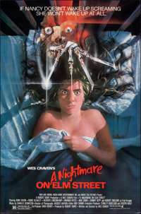 "A Nightmare on Elm Street (New Line, 1984). Rolled, Very Fine+. One Sheet (27"" X 41""). Matthew Joseph Peak Art..."