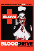 """Movie Posters:Horror, Saw: Blood Drive (Lions Gate, 2004). Rolled, Very Fine+. One Sheet (27"""" X 40"""") SS, Advance. Horror.. ..."""