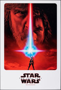 "Movie Posters:Science Fiction, Star Wars: The Last Jedi (Walt Disney Studios, 2017). Rolled, Very Fine+. One Sheet (27"" X 40"") DS, Advance. Science Fiction..."