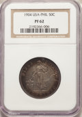 Philippines: USA Administration Proof 50 Centavos 1904 PR62 NGC
