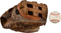 Baseball Collectibles:Others, 1980's-90's Game Used Glove - Used Entire Career from The Devon White Collection. ...