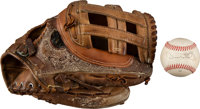 1980's-90's Game Used Glove - Used Entire Career from The Devon White Collection