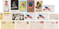 Political:Small Paper (1896-present), Woman's Suffrage: Group of Postcards and Envelopes....