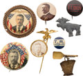 Political:Pinback Buttons (1896-present), Theodore Roosevelt: Assorted Campaign Badges....