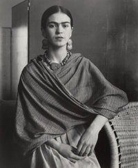Imogen Cunningham (American, 1883-1976) Frida Kahlo Rivera, Painter and Wife of Diego Rivera, 1931 G