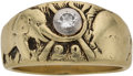 Baseball Collectibles:Others, 1929 Philadelphia Athletics World Series Championship Ring Presented to Al Simmons....