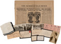 Political:Small Paper (1896-present), Warren G. Harding: Eclectic Collection of Ephemera....