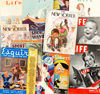 Miscellaneous Vintage Magazines Group of 13 (Various Publishers, 1920s-50s).... (Total: 13 Comic Books)