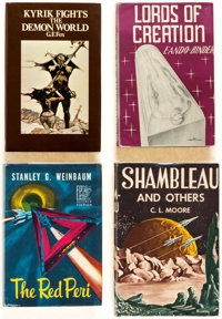 Assorted Science Fiction Hardcover Editions Group of 14 (Various, 1949-2000) Condition: Average FN.... (Total: 14 Items)