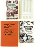 Books:General, History of Science Fiction and Fantasy Rare Hardcover Editions Group of 4 (Various, 1954-79).... (Total: 4 Items)