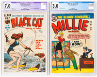 Golden Age CGC-Graded Comics Group of 2 (Various Publishers, 1947-52).... (Total: 2 Comic Books)