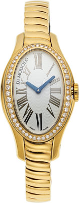 Di Modolo Ladies Diamond, Gold Tempia Watch