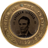 Abraham Lincoln: Back-To-Back 1860 Ferrotype
