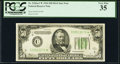 Fr. 2102-C* $50 1934 Dark Green Seal Federal Reserve Star Note. PCGS Very Fine 35