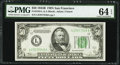 Fr. 2104-L $50 1934B Federal Reserve Note. PMG Choice Uncirculated 64 EPQ