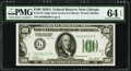 Fr. 2151-G $100 1928A Dark Green Seal Federal Reserve Note. PMG Choice Uncirculated 64 EPQ